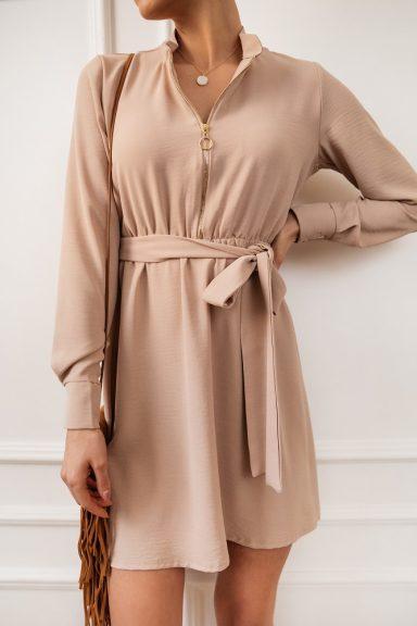 Cocomore sukienka pudrowy róż 40