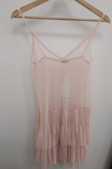 Minouu różowa halka pod swetry i sukienki