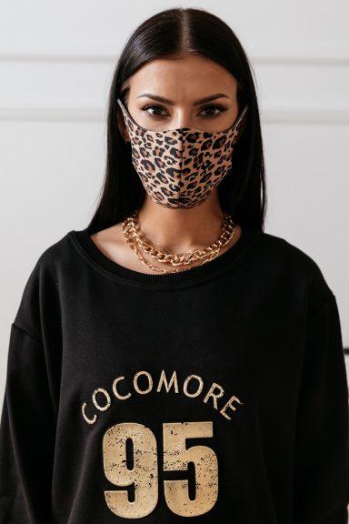 Cocomore maseczka panterka damska na twarz M