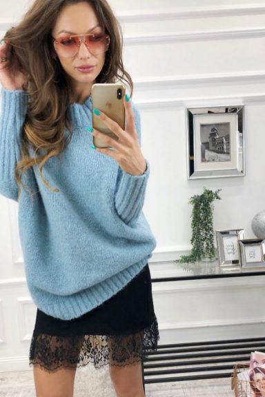 Cocomore sweter błękitny trili