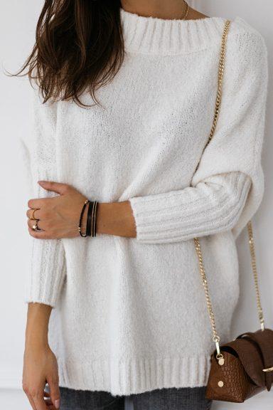 Cocomore sweter biały trili