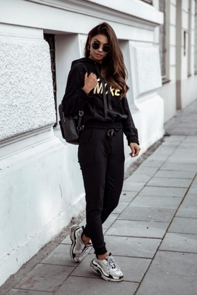 Cocomore czarne spodnie M