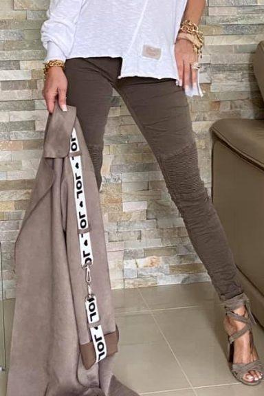 By o la la la spodnie marszczenia XS