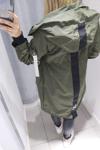 Cocomore Khaki kurtka parka płaszcz L