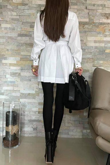 By o la la…! tunika/koszula biała S